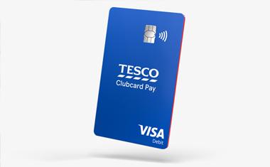 Tesco Clubcard Pay card