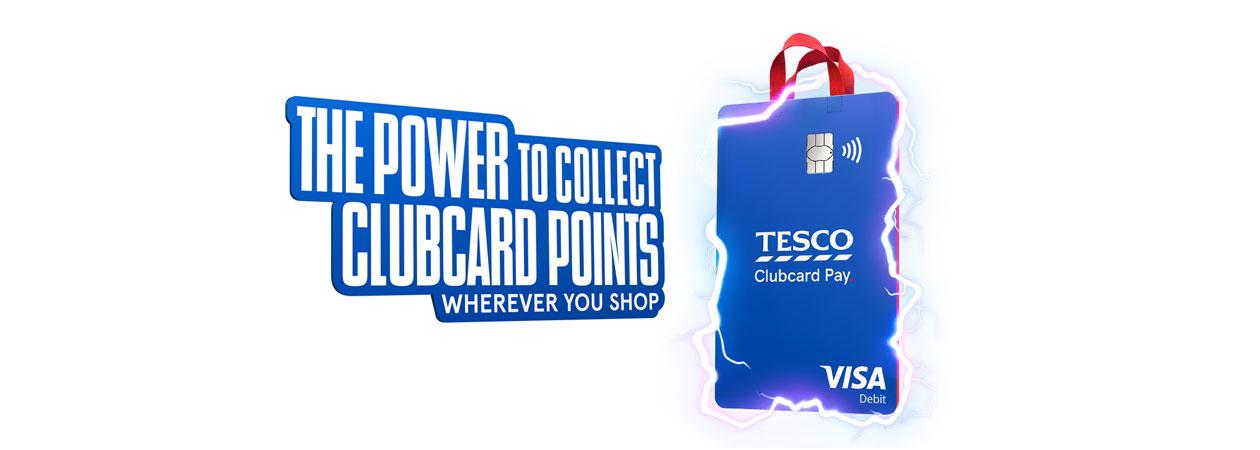 Clubcard points card