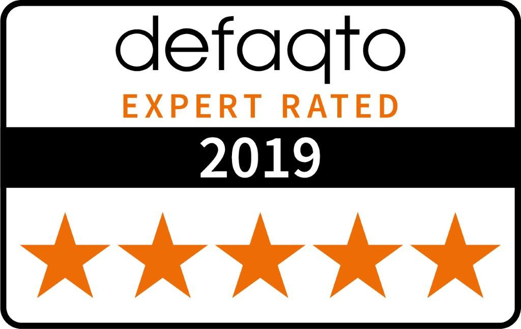 defaqto 5 star rated 2019