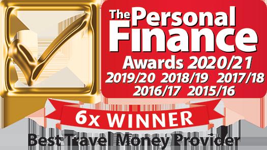 personal finance awards logo