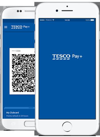 Tesco pay plus phone
