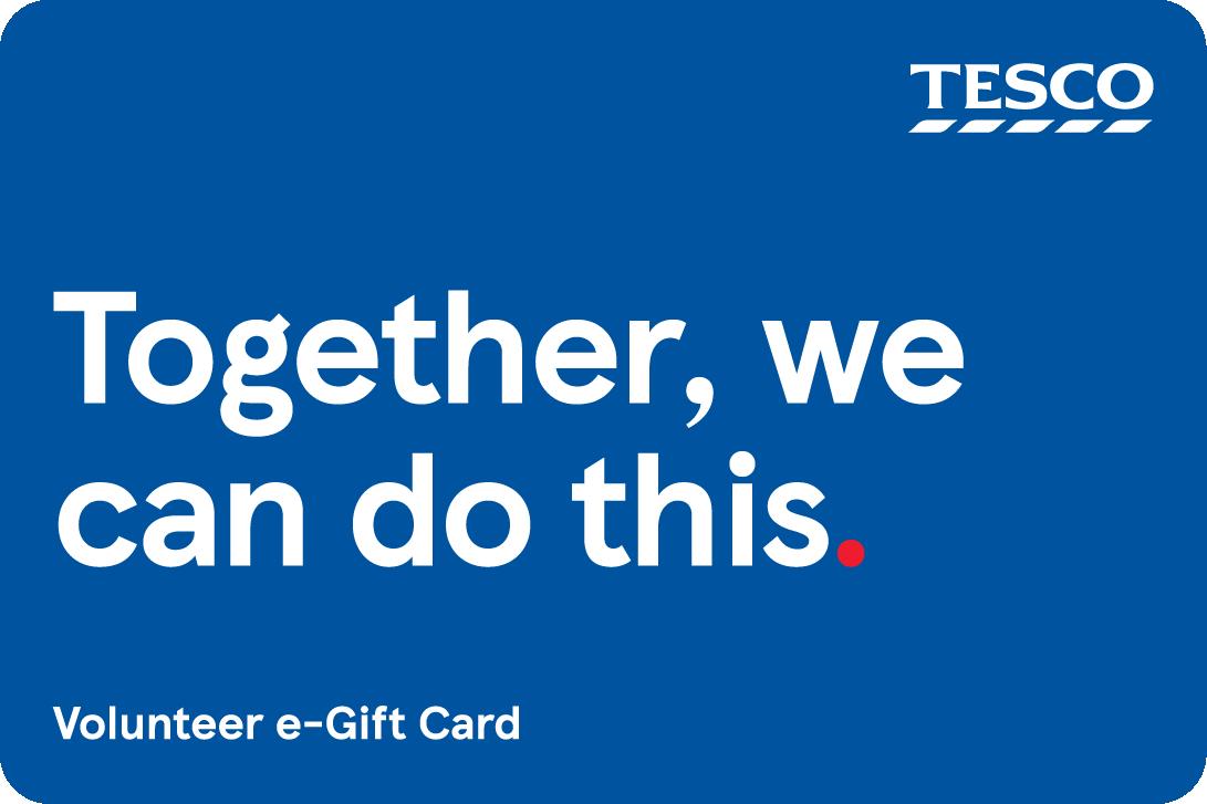 Volunteer gift card